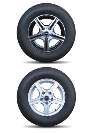 New Light Trailer Alloy Wheels Twl